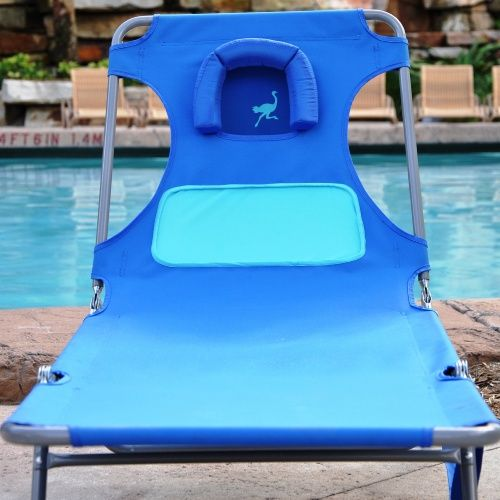 Wonderful Ostrich Ladies Comfort Chaise Lounge   Beach Chairs At Hayneedle
