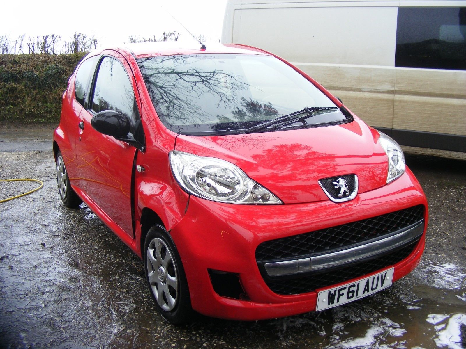 eBay: 2011 PEUGEOT 107 URBAN 3 DOOR SALVAGE DAMAGED REPAIRABLE ...
