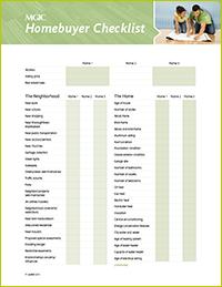 homebuyer checklist   info for home buyers   pinterest