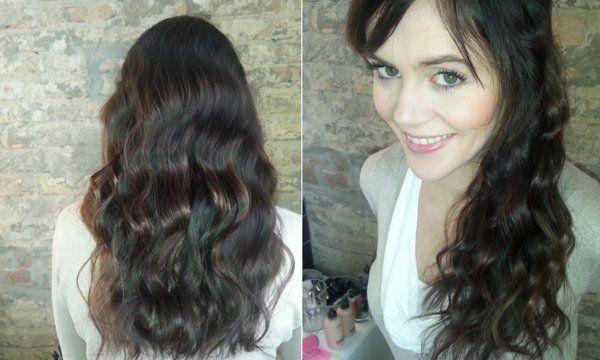 Ziemlich easy - die perfekte Welle für lange Haare!
