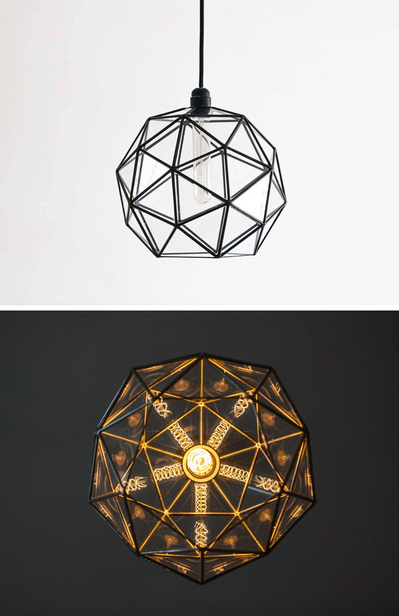 These delicate and handmade pendant lights offer a geometric shadow these delicate and handmade pendant lights offer a geometric shadow mozeypictures Gallery