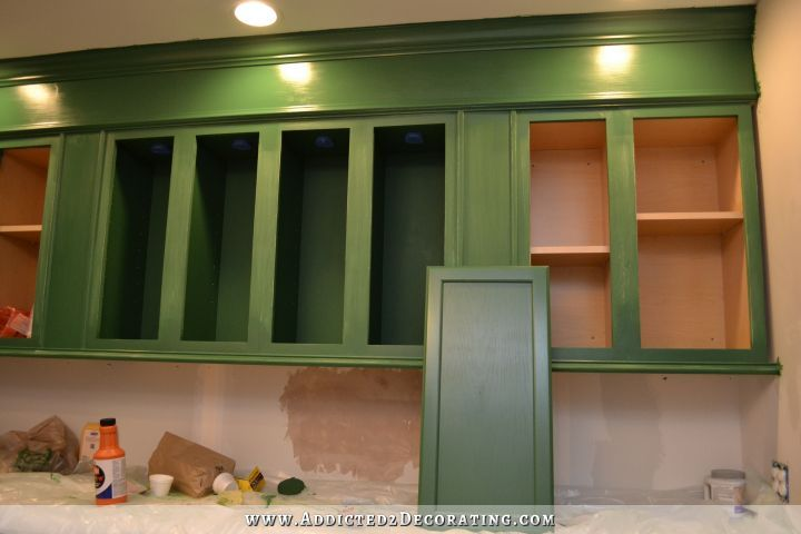 Paint Rant, Round 2 | Green paint colors, Green kitchen cabinets and ...