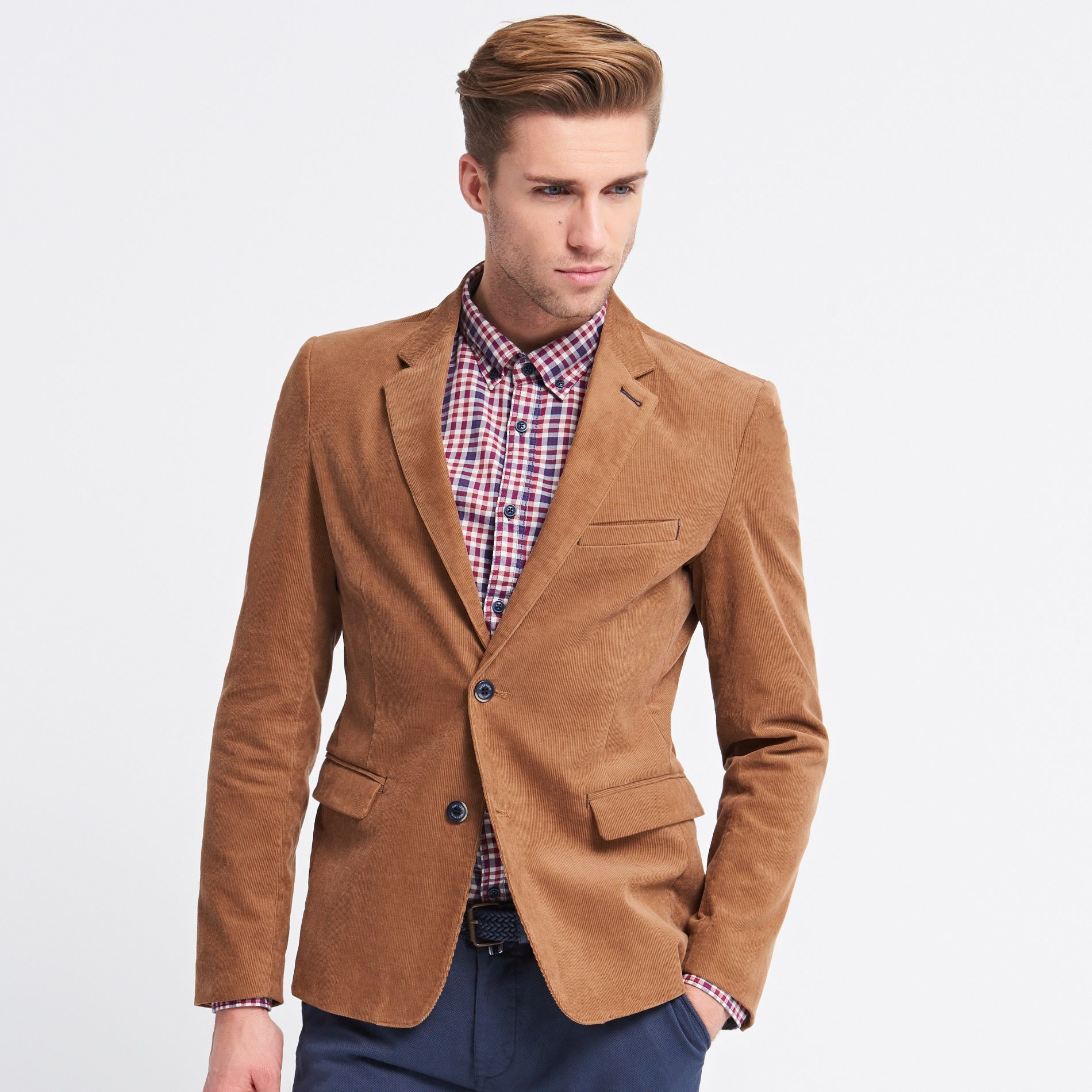 Aksamitna marynarka , RESERVED | MODA MEN | Suit Jacket