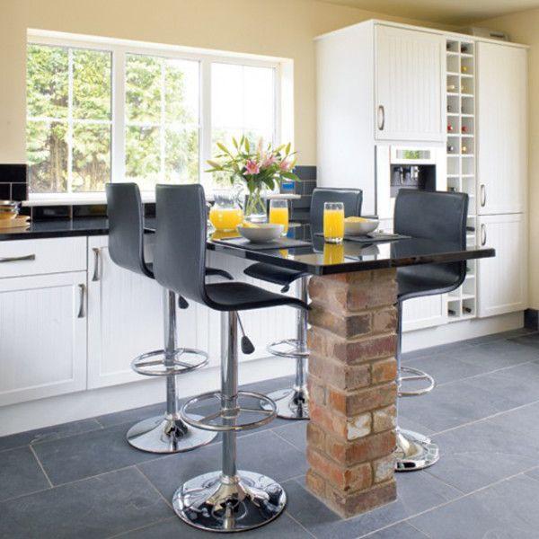 барные стойки на кухне фото дизайн 1