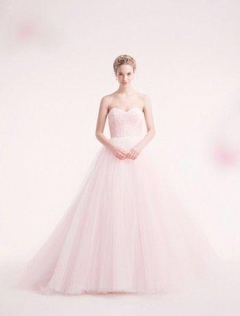 pink wedding dress! my-future-wedding