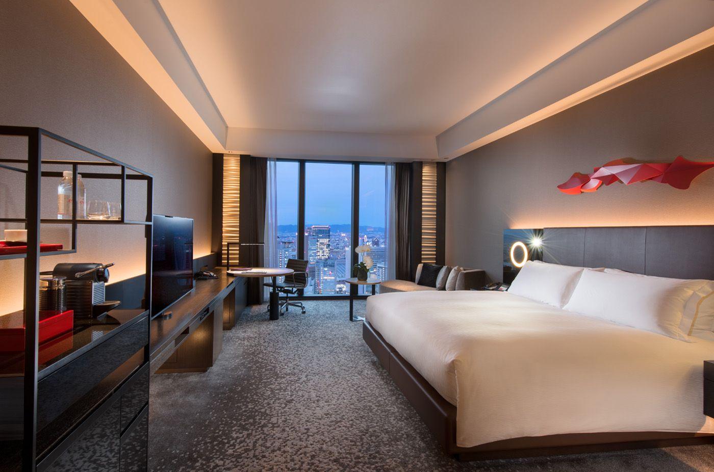 Osaka Luxury Hotels 5 Star Vacations Conrad Osaka Hotel Room