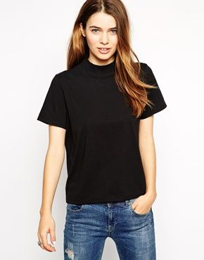 ASOS T-Shirt with High Neck