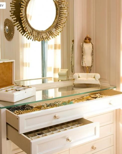 Do you know how to build a walk in closet? #Accessories Drawer I. WILL. have this in my future home ...