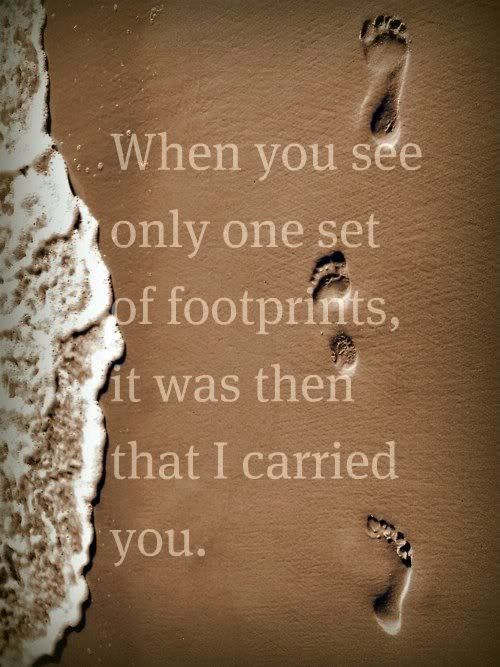 Footprints Quotes Quotes Sayings Inspirational Quotes