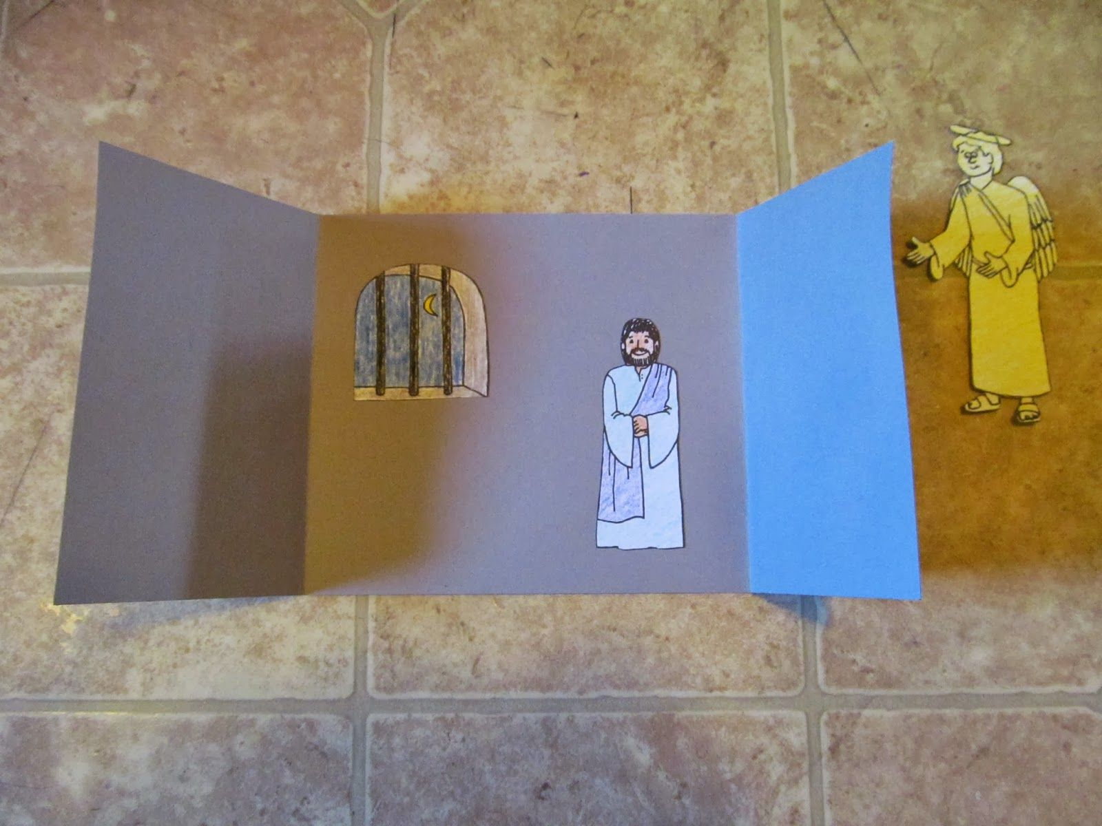 peter escapes from prison craft bible acts u0026 early christians