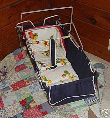1950s Baby Car Bed Seats Cradles