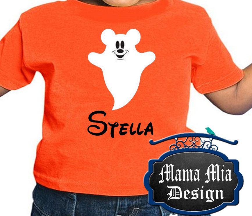 Disney Toddler, Personalized Disney Halloween Shirt