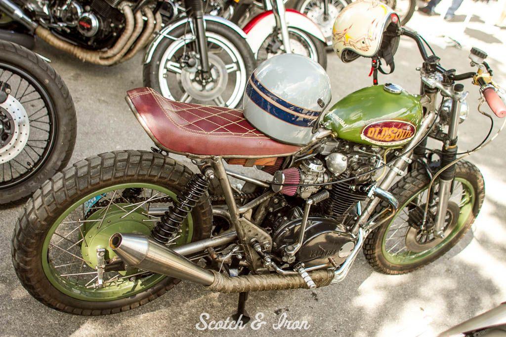 yamaha xs650 street tracker カスタムバイク, バイク