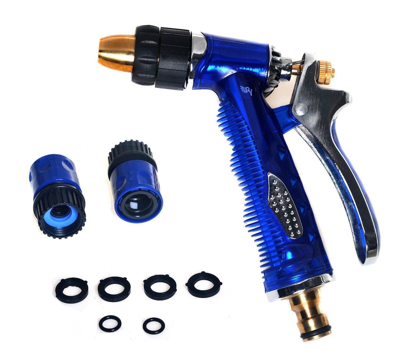 amazon com garden hose nozzle high pressure heavy duty metal