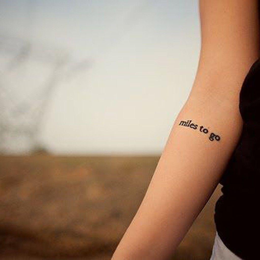 Endroit Pour Une Phrase Tatouages Tattoos Small Tattoos Et