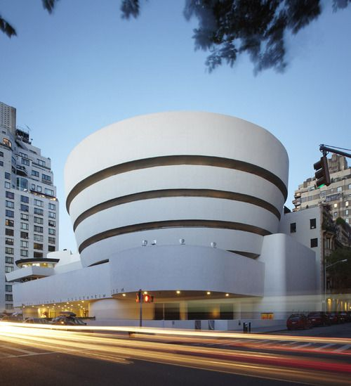 Solomon R Guggenheim Museum Frank Lloyd Wright Location New York United States Architecture Iconic Buildings American Architecture