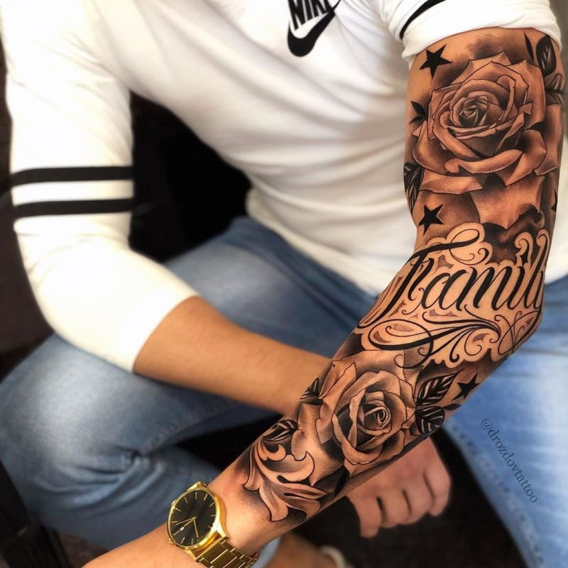 52 Superb Sleeve Tattoos For Men Half Sleeve Tattoos For Guys Tattoos For Guys Cool Forearm Tattoos
