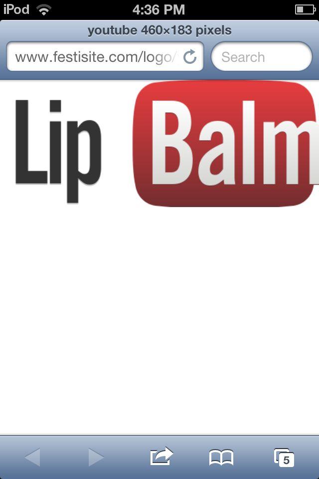 I edited the YouTube logo