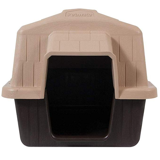 Aspen Pet Petbarn Dog House Snow and Rain Diverting Roof