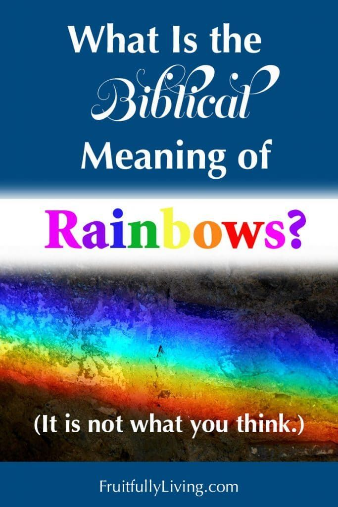 What Is the Meaning of Rainbow in the Bible in 2020 ...