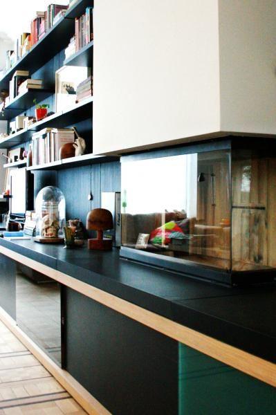 Declerck-Daels Architecten - Interieur - Haard - fireplace