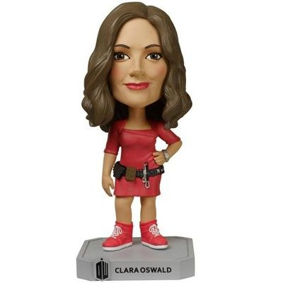 Doctor Who FUNKO Pop Wacky Wobbler Clara Oswald Toy Figure