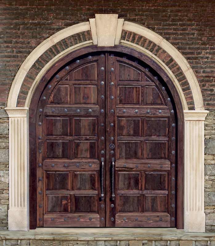 Arched Doors - Castel del Monte 13th Cen Italy - replica by Scottsdale Art Factory & Arched Doors - Castel del Monte 13th Cen Italy - replica by ...