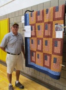 a poor picture, but a great quilt!