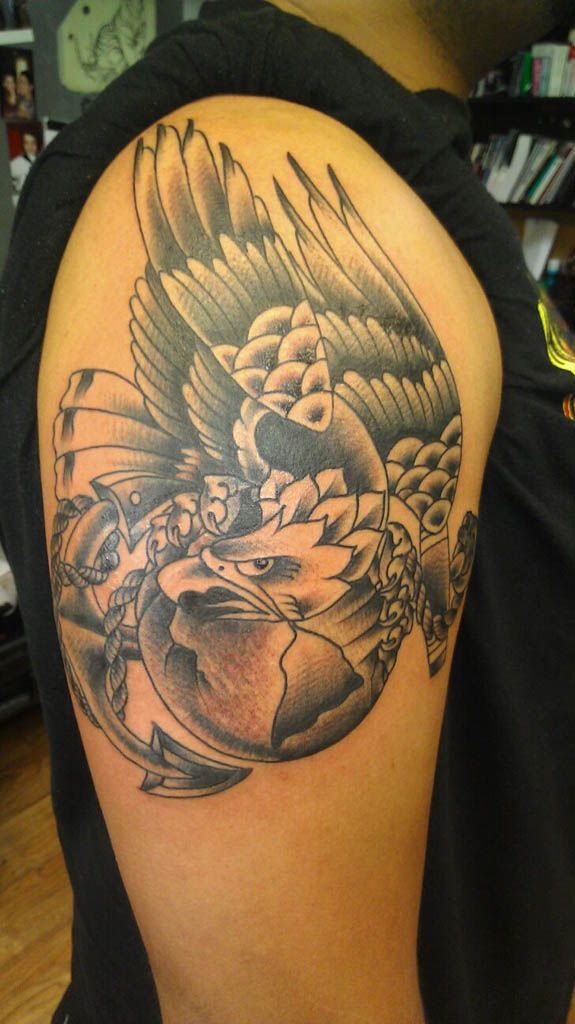 Eagle Globe And Anchor Tattoos Marine Corps Sgt Grit
