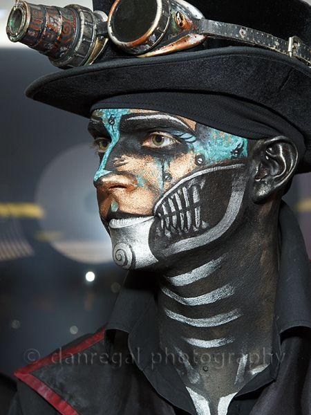 steampunk makeup - Google Search