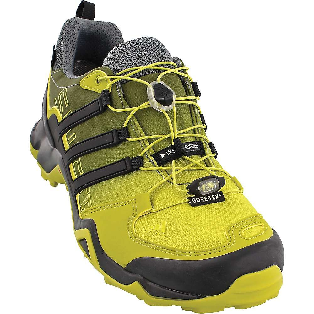 0de4aa905 Adidas Men s Terrex Swift R GTX Shoe - 10 - Unity Lime   Black   Chalk White