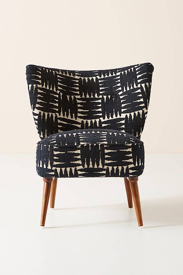 Best Mumbai Petite Accent Chair By Anthropologie In Beige Size 400 x 300