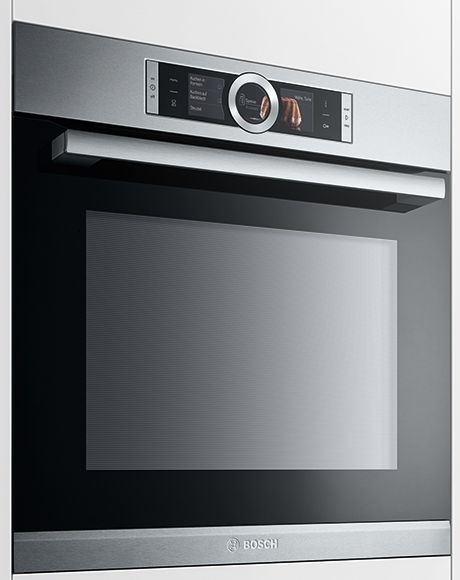 the new wall oven by bosch the series 8 features unique 4d heat technology available only from. Black Bedroom Furniture Sets. Home Design Ideas