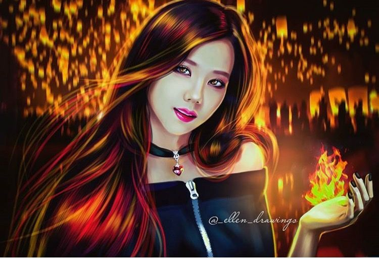 #PLAYING WITH FIRE #Jisoo | New girl 2016 | Blackpink ...