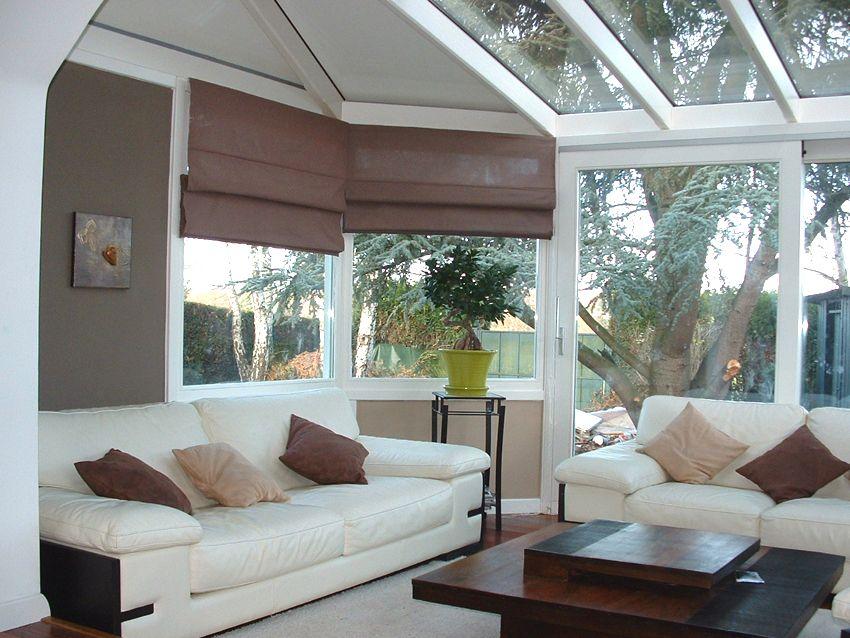 Le salon dans la véranda Déco intérieure Déco Jardin Pinterest - prix d une extension de maison de 20m2
