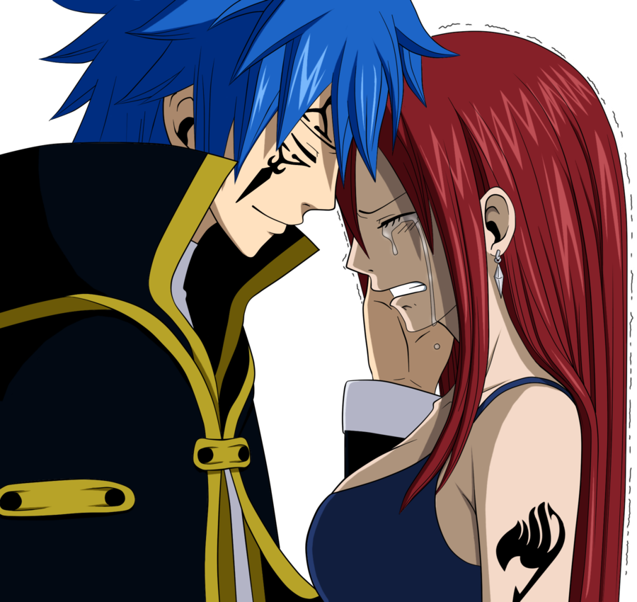 Fairy tail erza and jellal render erza and jellal - Image fairy tail erza ...