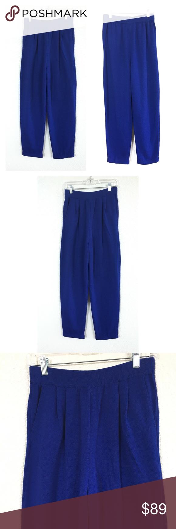 a21fa8a15f8 St. John By Marie Gray Royal Blue Santana Knit St. John Womens Size ...