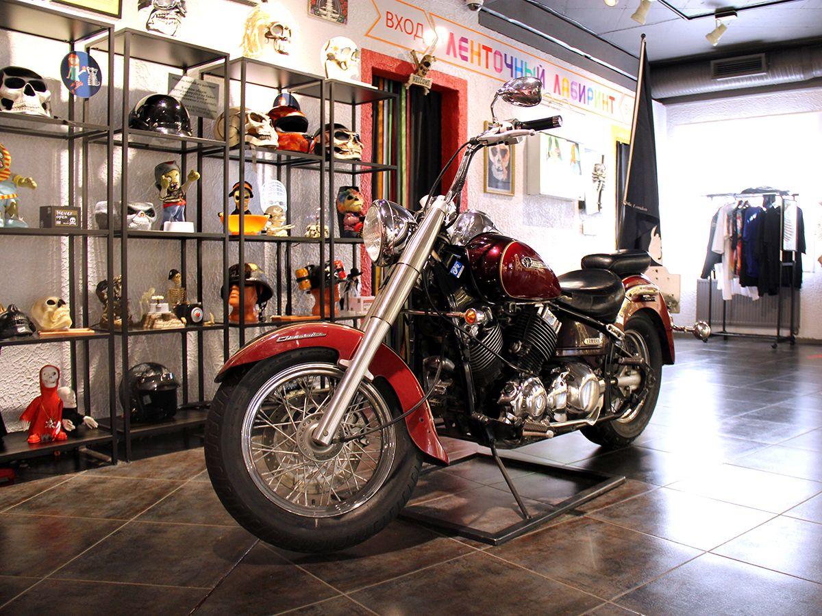 Настоящий мотоцикл