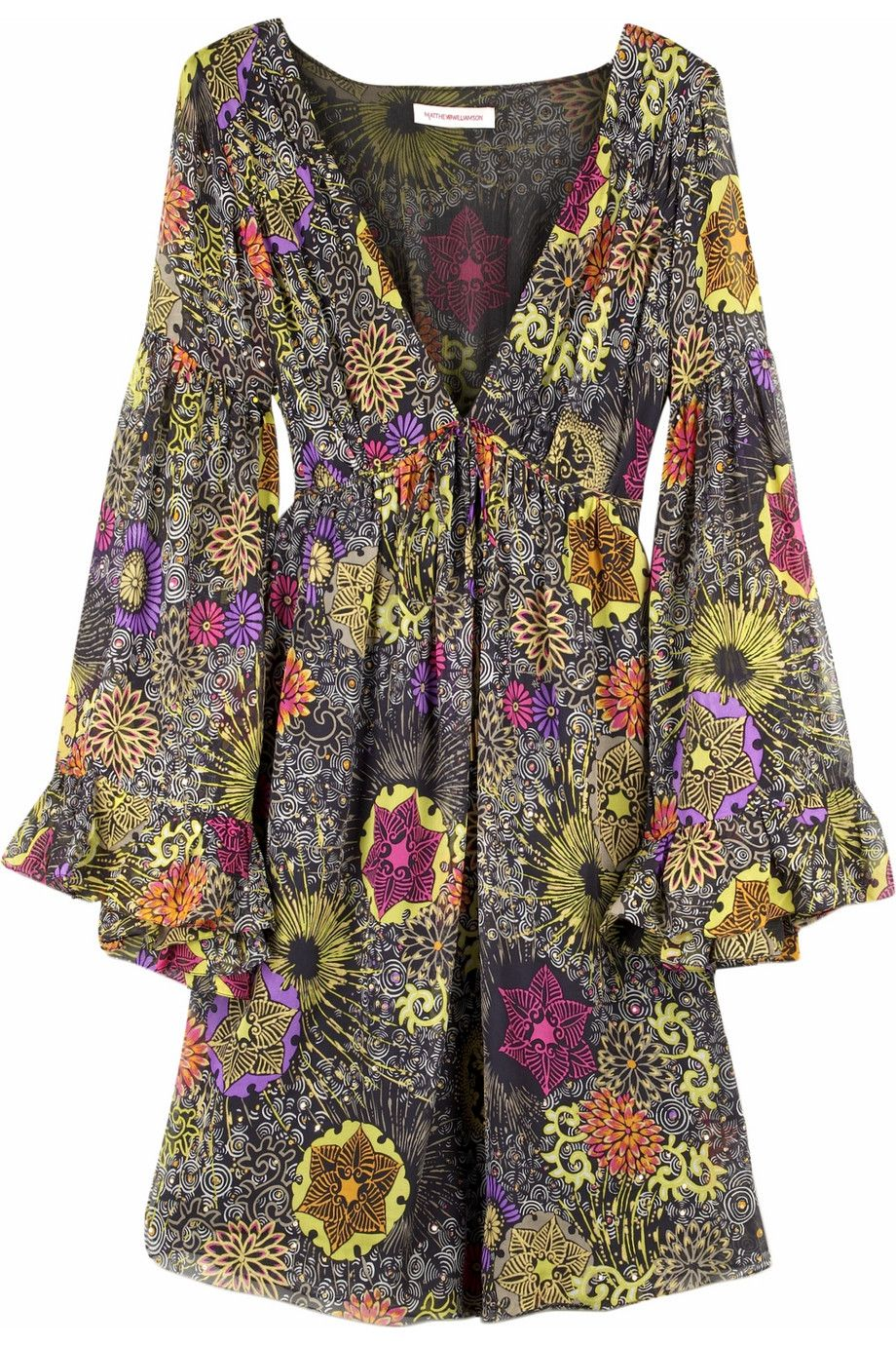 Matthew Williamson floral dress