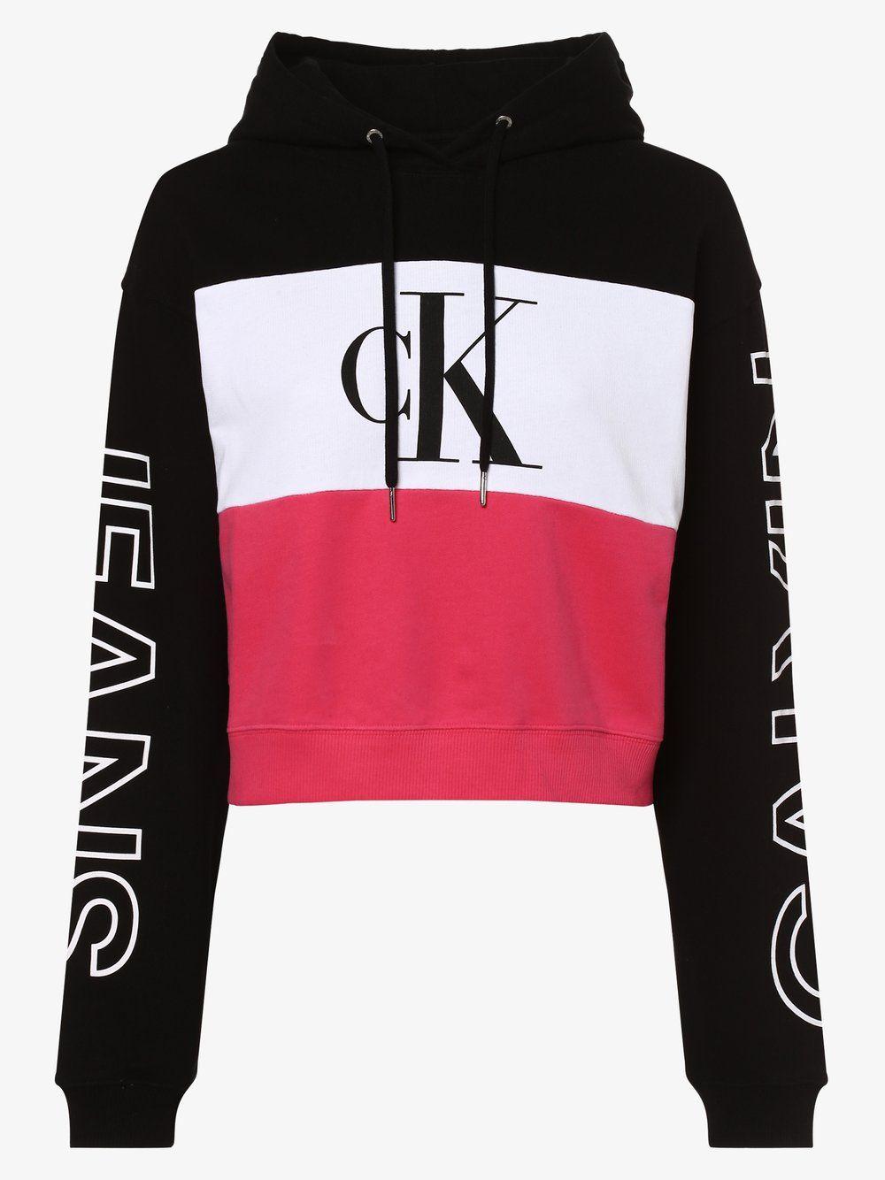 Calvin Klein Jeans Damen Sweatshirt Online Kaufen In 2020 Sweatshirt Damen Sweatshirts Jeans