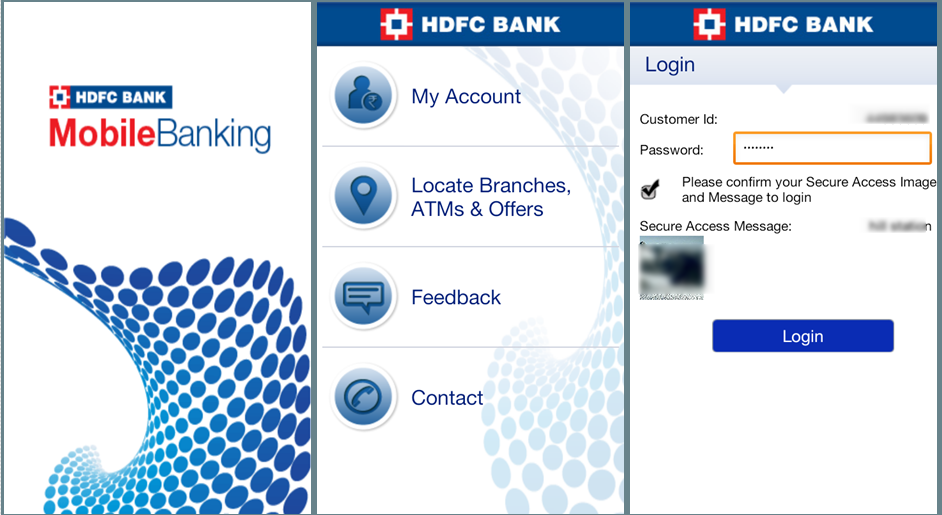 Hdfc Bank Mobilebanking Review Official Hdfc Android App Banking App App Mobile Banking