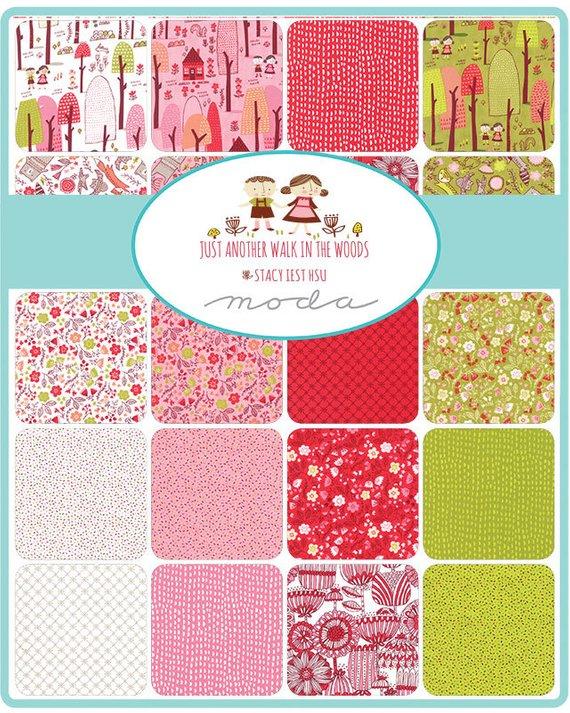 """Moda FABRIC Jelly Roll ~ HOWDY ~ by Stacy Iest Hsu 40-2 1//2/"""" Strips"""