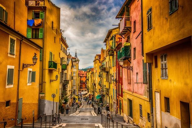 Nice, France — by Sena Nic. Roaming the colorful streets of Nice.