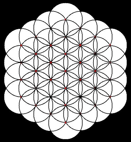 La Flor De La Vida Geometría Sagrada Simbología Y Geometría
