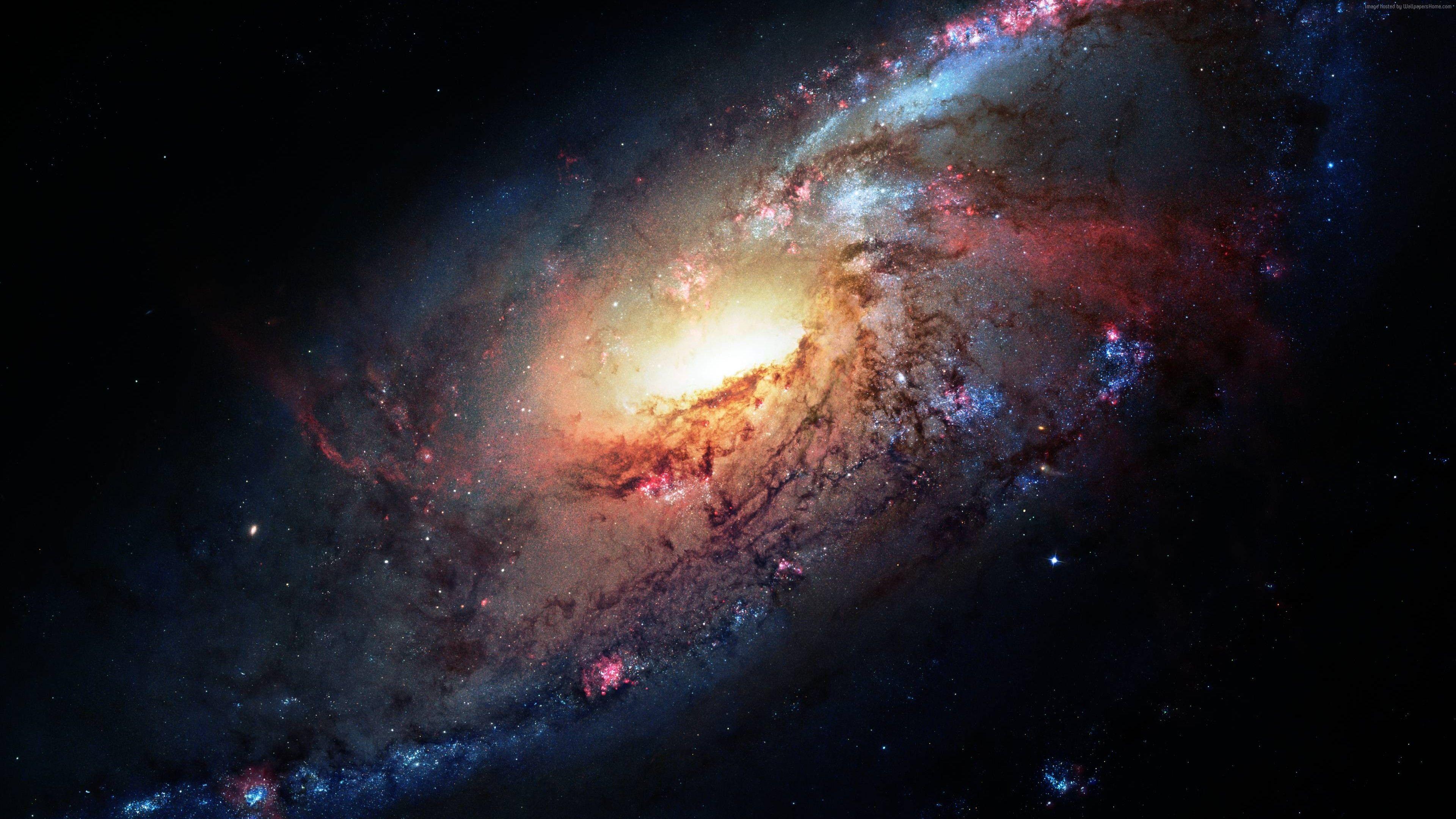 Wallpaper Messier 106 Stars 4k Space Wallpaper Widescreen Wallpaper Hd Widescreen Wallpapers