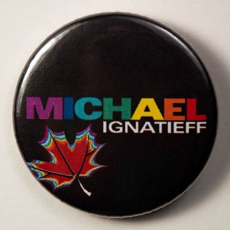 Michael Ignatieff   The Pin Button Project   #CanQueer