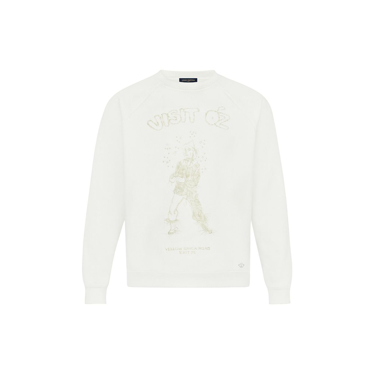 Scarecrow Embroidered Sweatshirt Ready To Wear Louis Vuitton [ 1244 x 1244 Pixel ]
