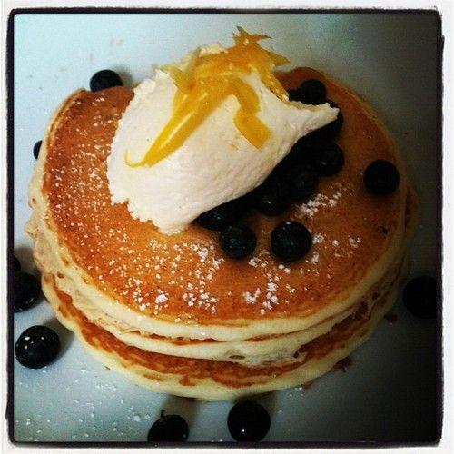 Yummy Lemon Ricotta Pancakes