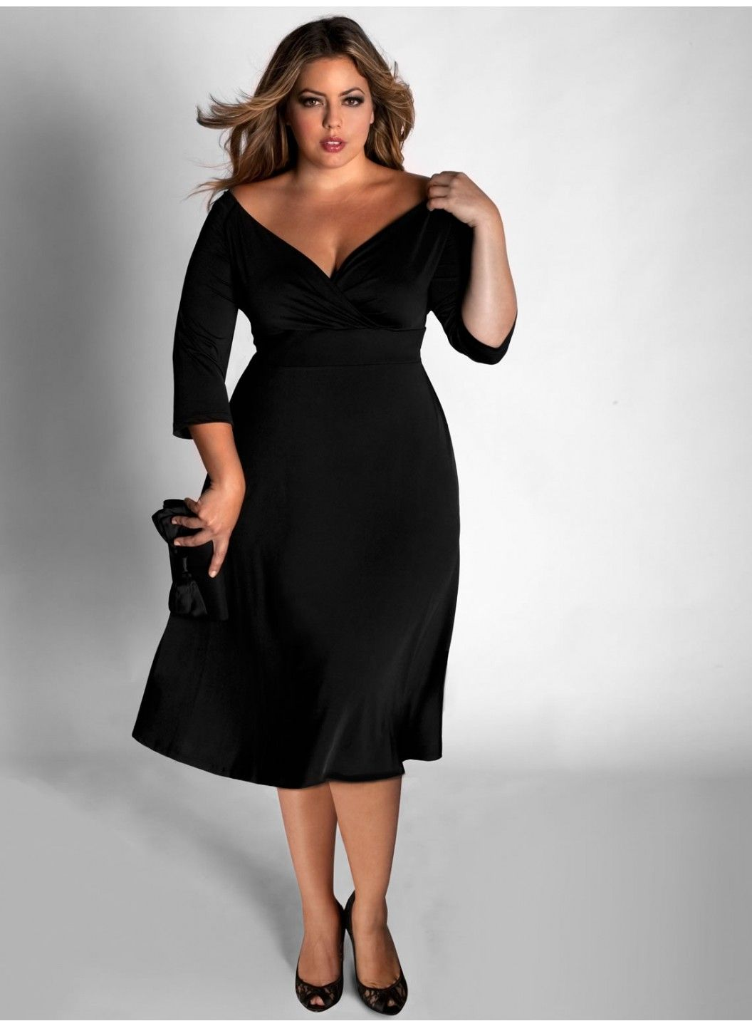 Cheap full figure cocktail dresses
