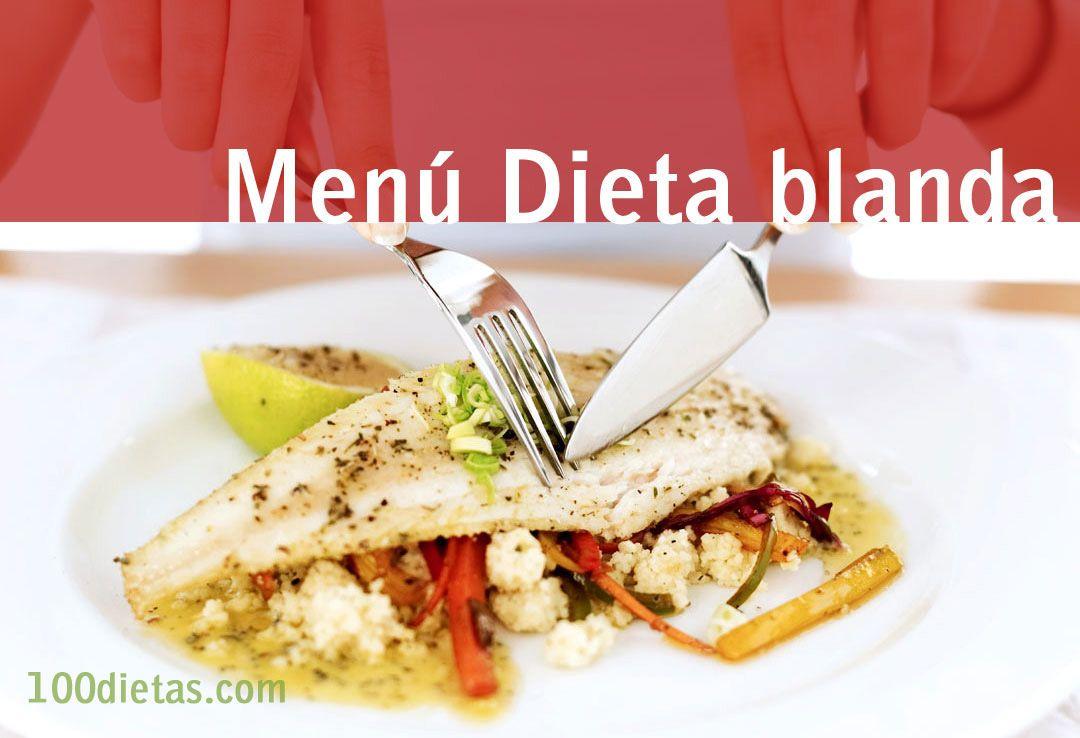 Cena dieta blanda astringente